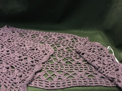 Photo of Purple Alpaca Wrap