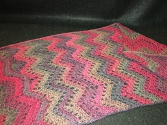 Photo of Chevron Alpaca Wrap