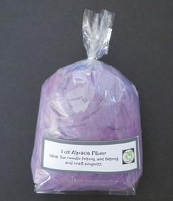 Photo of Custom Dyed Alpaca Fiber