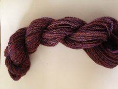 100% Alpaca Dyed Yard