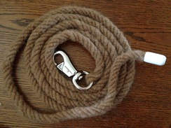 8' Light Brown Horse Lead
