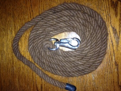 8' Dark Brown Horse Lead