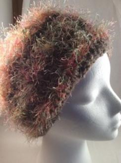 Alpaca, wool, rayon hat
