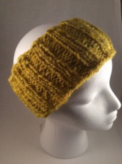 Photo of Nice yellow alpaca headband