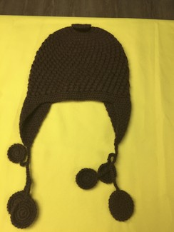 Photo of HAT  --ALPACA CHULLO HAT       .
