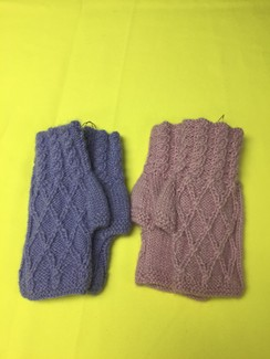 Photo of GLOVES--FINGERLESS GLOVES--SHORT STYLE