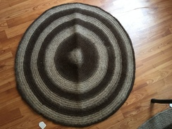 Photo of Round Alpaca Rug