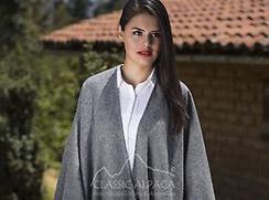Photo of Alpaca Ruana-Coat-Wrap