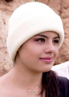 Photo of Double Knit English Alpaca Hat