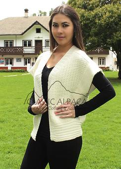 Photo of Yadhirad baby alpaca vest