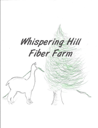 Whispering Hill Fiber Farm - Logo