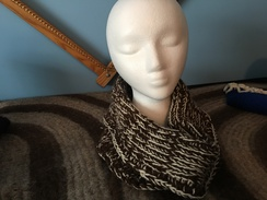 Photo of Tunisian Crocheted Cowl