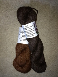100% Alpaca Sport Weight with Firestar