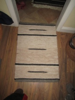 Heirloom Alpaca Rugs from our Alpacas