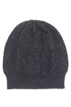 100% Baby Alpaca Aran Cable Hat