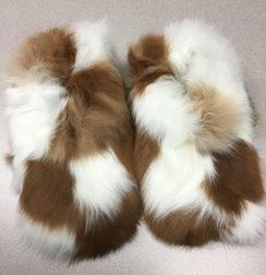 Fuzzy-Wuzzy Alpaca Slippers!