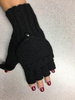 Alpaca Glittens (fingerless mittens)