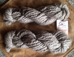 Photo of 100% Alpaca- Rose Grey Super Bulky yarn