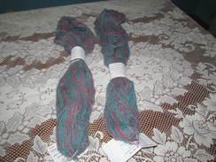 Yarn Alpaca & Angora Rose & Tourquoise