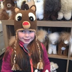 Rudolph the Red Nosed Reindeer Flap Hat