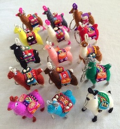 Alpaca Toy Keychain/Magnet/Ornament