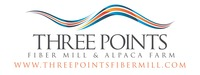Three Points Alpaca Farm & Fiber Mill - Logo