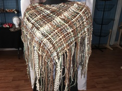 Photo of Sand and Sable Shawlette