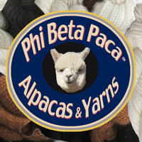 Phi Beta Paca™ Alpacas & Yarns - Logo
