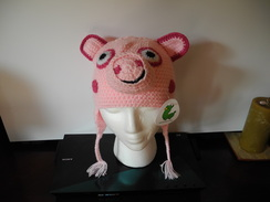 Photo of Alpaca Pig hat