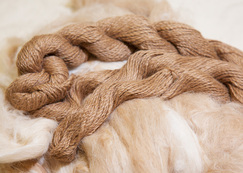 Toffee's Suri Alpaca Yarn by the ounce