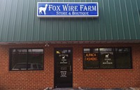 Fox Wire Farm Alpacas - Logo