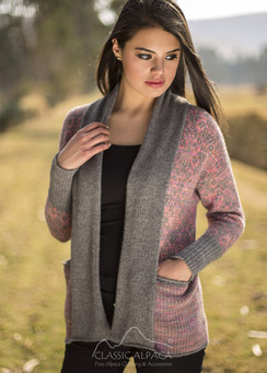Photo of Berenice Alpaca Cardigan