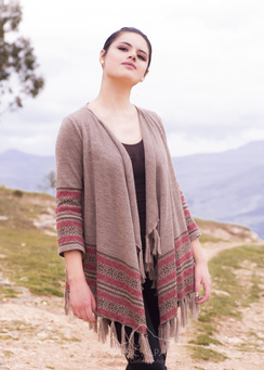 Photo of Woodstock Alpaca Long Cardigan