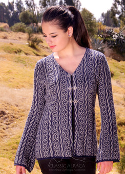 Photo of Aileen Alpaca Clasp Cardigan