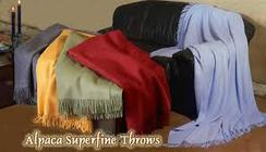 Superfine Collection Throws