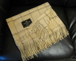 Photo of Camel Pin Stripe Throw