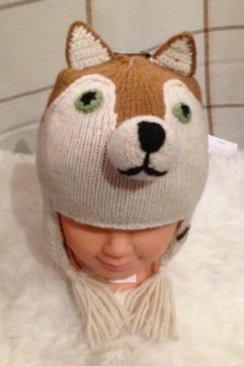 100% Alpaca Fox Hat