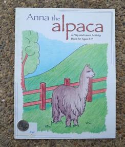 Photo of Book: Anna The Alpaca (Activity Book)