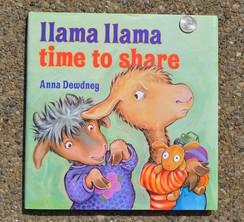 Photo of Book: Llama Llama Time To Share