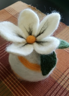 Photo of FFAF class - Needle Felted Pin Cushion