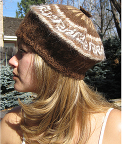 Photo of Handknit Beret