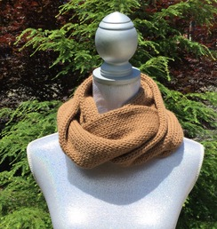 Photo of 100% Alpaca Infinity Scarves by Emily
