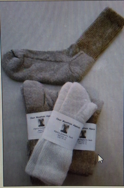 Photo of Lose Knit, Gentle Touch Alpaca Socks