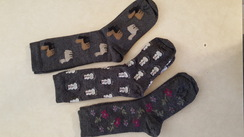 Photo of Alpaca Print Socks