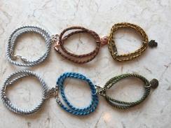 Double Strand w/Charms - Bracelet