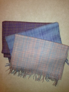 Photo of Pastel Woven Scarves