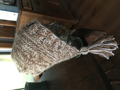 Bonnett style hat