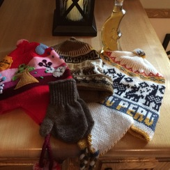 Photo of Children's Hats, Gloves and Mittens