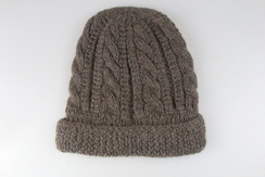 Photo of Hat - 100% Alpaca - Trenza Cable