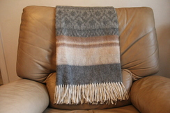 Photo of Alpaca Cherokee Blanket